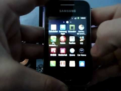 Android 2.3.6 Galaxy Y GT-S5360B