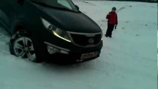 Kia Sportage 3 Winter
