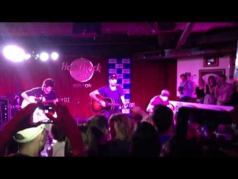Luke Bryan - Country Girl (shake It For Me) - Live Acoustic Set, Hard Rock Cafe Boston, Ma 2 5 2013 video
