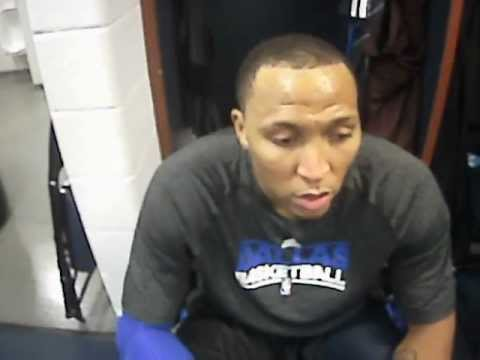 Interview - Shawn Marion before Washington Wizards @ Dallas Mavericks