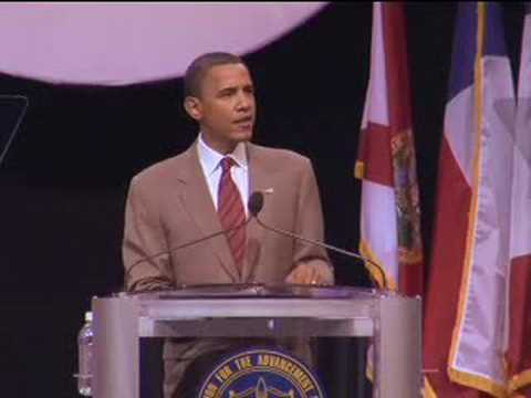 Barack Obama at NAACP Annual Conference