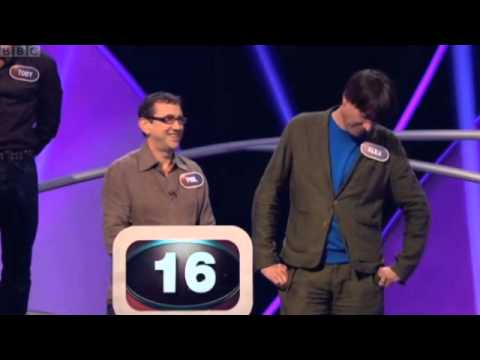Pointless Celebrities -  Blur's Alex James and Phil Daniels
