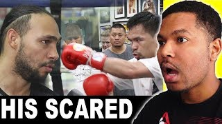 IS KEITH THURMAN REALLY SCARED OF  MANNY PACQUIAO?? ""