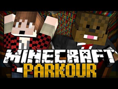 Minecraft iCrave Parkour VERSUS MODE w BajanCanadian JeromeASF