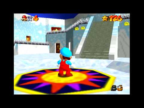 Super Mario 64 Icy Adventure (Preview)