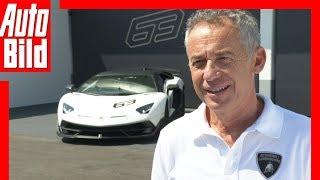 Lamborghini Aventador SVJ (2018) Maurizio Reggiani im Interview