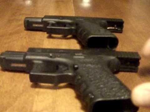 Glock 19 grip reduction vs stock G19