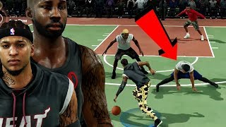 OPPONENT DOES A SPLIT AFTER GETTING ANKLES BROKEN! NBA Live 18 Live Run Gameplay Ep. 20