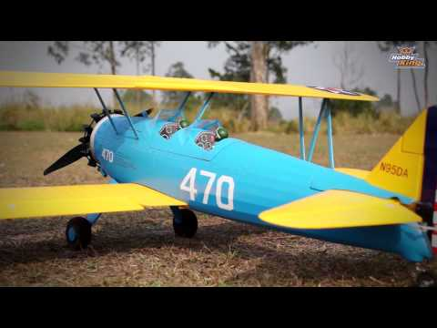 HobbyKing Product Video - Stearman PT-17