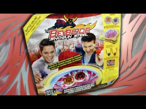 Beyblade Shogun Steel Samurai Cyclone Battle Set Unboxing & Review (Part A)