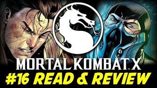 Mortal Kombat X #16 Sub Zero: Sekret Origin (Read & Review)