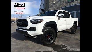 2019 Toyota Tacoma TRD PRO Walkaround - Brampton ON - Attrell Toyota