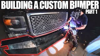 BUILDING A CUSTOM BUMPER FOR THE DUALLY - Part 1