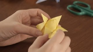 How To Make An Origami Flower: Part 2 : Simple & Fun Origami