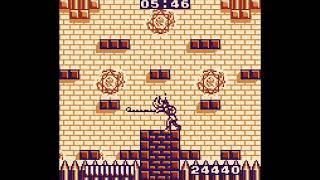 Castlevania: The Adventure Drac fight