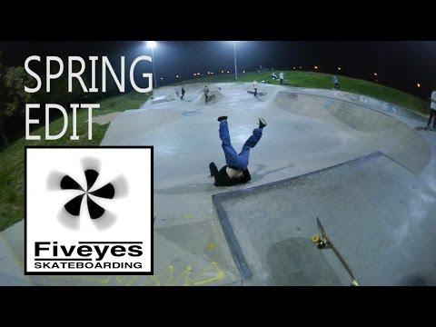 Five Eyes Skateboarding Spring Eaton Park Edit 2015