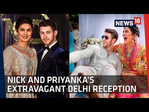 A Look Into Nick Jonas And Priyanka Chopra's Delhi Reception