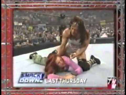 Lita And Trish Stratus Vs Stacy Keibler And Jazz