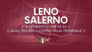 [Qual. Round] Coppa Italia F: Leno - Salerno 24-35