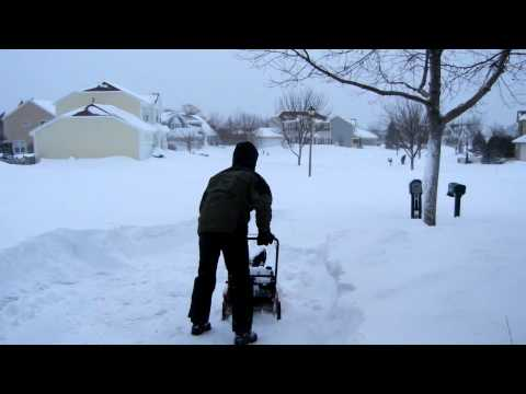 2011 Chicago Snow Blizzard Being Cleared by Simon Walker from AndroidSPIN