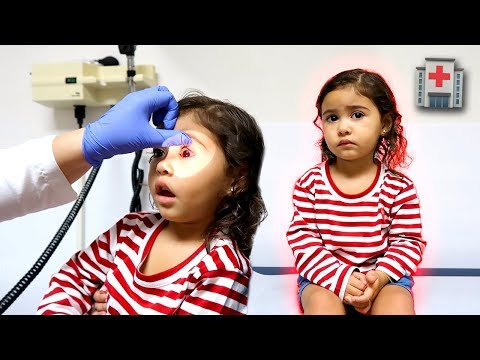 ELLE WOKE UP WITH PINK EYE!!! **WE HAD TO RUSH HER TO THE DOCTORS**