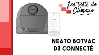 Test d'un aspirateur robot connecté Neato Botvac D3