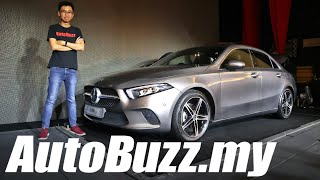 Mercedes-Benz A-Class Sedan, Things You Need To Know - AutoBuzz.my