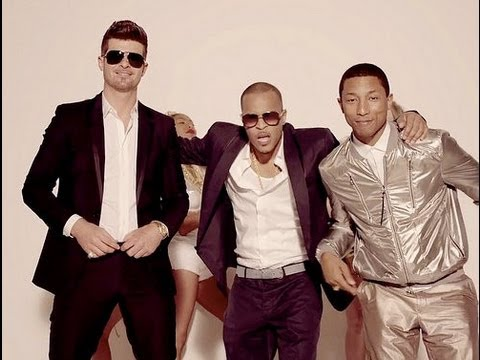 Robin Thicke - Blurred Lines Ft. T.i., Pharrell (cover) video