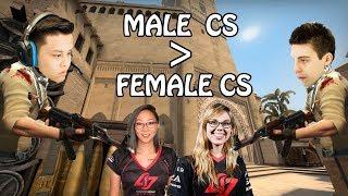 C9 Shroud and Stewie2k Destroying Female CSGO PROS