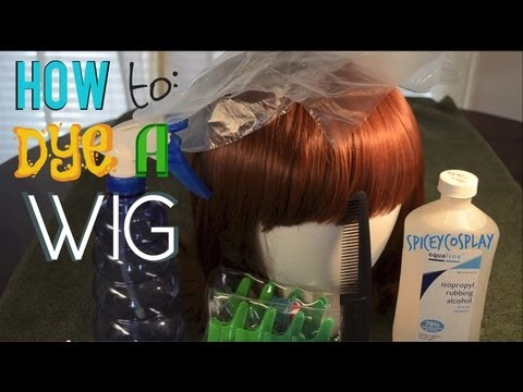 How to: Dye a wig
