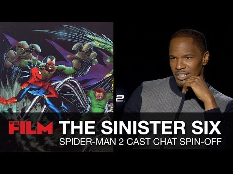 Sinister Six movie - Jamie Foxx, Dane DeHaan and Marc Webb chat ideas
