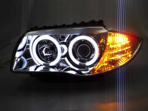 Sw Ccfl Angel Eye Scheinwerfer Bmw E81 E87 Chrome Ccfl Slr