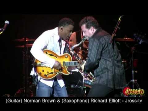 James Ross @ (Guitarist) Norman Brown&(Sax) Richard Elliott - Rob McDonald (Bass) - Jross-tv