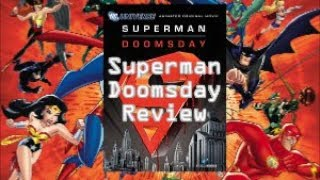 DCAU Update: Superman Doomsday Review