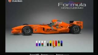 GT4 Formula 1 Gran Turismo F1 Ferrari Red Nurburgring Onboard