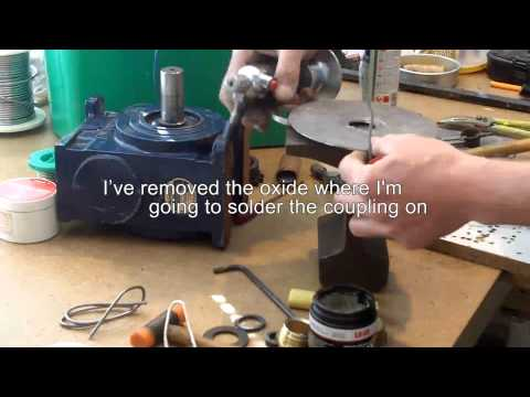 About Radio 74 Antenna Rotator part 6  Sealing the rotator