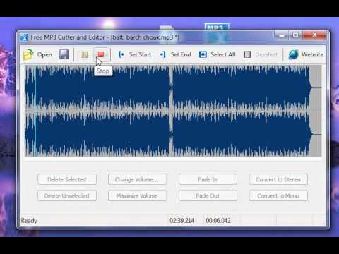 Free MP3 Cutter and Editor.wmv