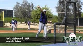 Jack McDowell, RHP, Los Angeles Dodgers, Pitching Mechanics at 200 fps
