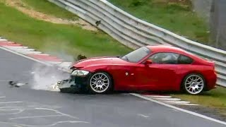 NÜRBURGRING EPIC CRASH FAIL & WIN Compilation Nordschleife Touristenfahrten