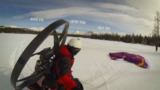 PARAMOTOR: SNOW CAVING ADVENTURE