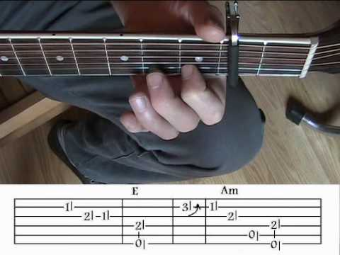 www.Play-Blues-Guitar.eu - Blind Boy Fuller - Ragtime Blues Guitar Lessons