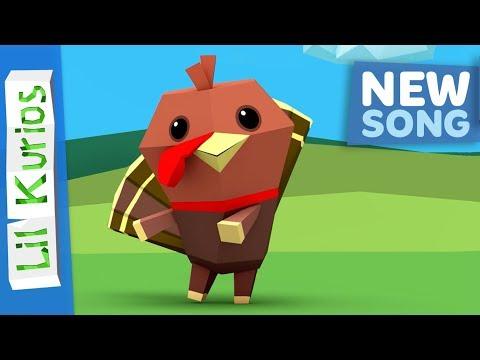 Do the Turkey Dance | Nursery Rhymes & Kids Songs | Lil Kurios