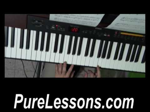 How To Play Falling Down (Selena Gomez&The Scene) On Piano - Lesson