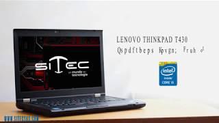 Portátil Lenovo ThinkPad T430