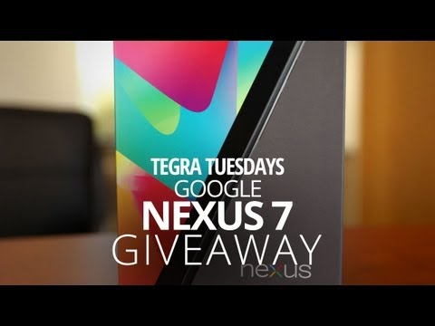 Nexus 7 32GB Giveaway (International)