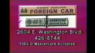 1986 - Fort Wayne Foreign Car