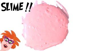 Zeepslijm - zonder Borax of wasmiddel - niet-giftige slijm maken met maïzena