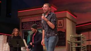 "Joe Crushes ""She Used To Be Mine"" at Waitress Karaoke!"