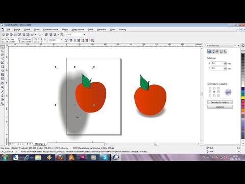 Jak narysować jabłko w CorelDraw. Mini kurs dla początkujących. Część I