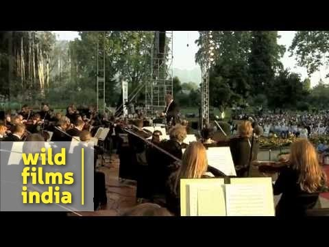 Zubin Mehta conducts Beethoven's 5th Symphony, 1st movement, in India